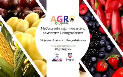 Галерија од учество на Агро Белград, меѓународен саем за овоштарство, зеленчуково производство и лозарство