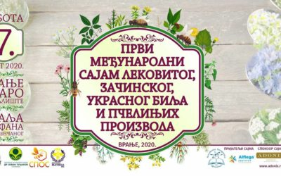Participation in the first international fair of medicinal, spicy, ornamental herbs and bee products in Vranje