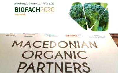 Participation in the trade fair for organic food and agriculture BIOFACH 2020,  Nürnberg, Germany